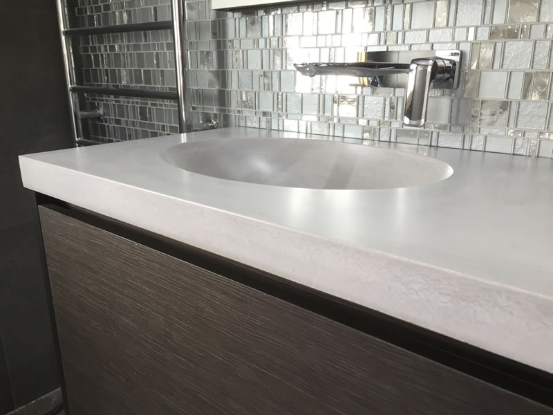 Custom Bathroom Vanities Wollongong future concrete designs - polished concrete benchtops for tops for